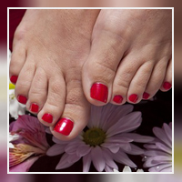 Pedicure foot treatment at Rondebosch Beauty Clinic
