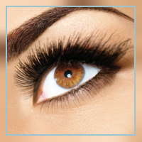 Eye lash tinting at Palmyra Beauty Spa