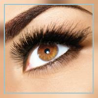 Eye lash tinting at Palmyra Beauty Spa